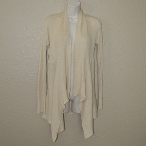 Sz S Cotton by Autumn Cashmere Beige Cardigan